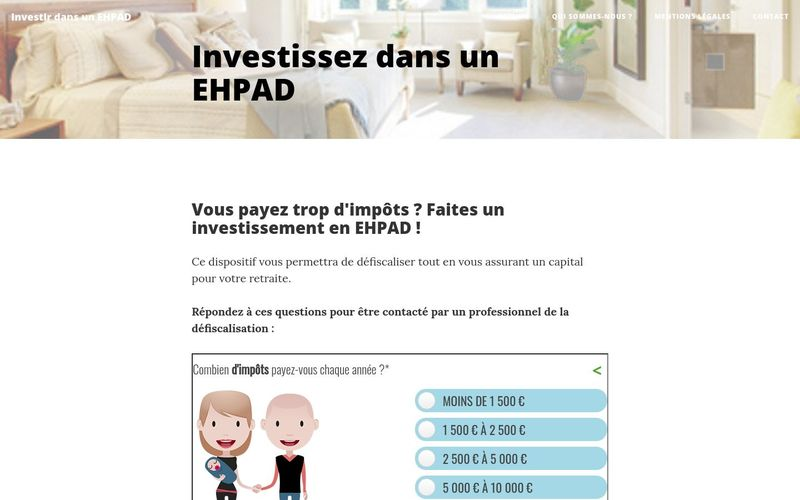 Pourquoi investir dans un EHPAD ?